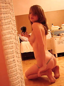 Dissolute younger chick is playing herself